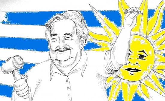 Jose Mujica 2kolory