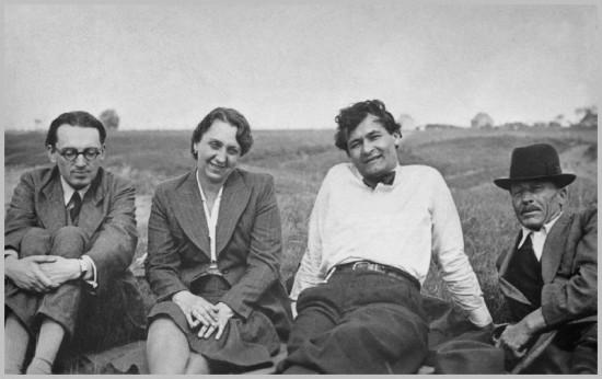 Bibó_István,_Tomori_Viola,_Erdei_Ferenc,_Erdei_Ferenc_édesapja,_1940