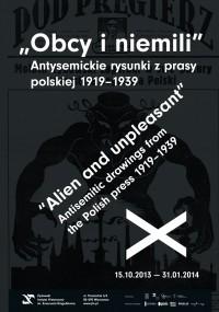 Plakat_OBCY_I_NIEMILI