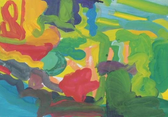 bez tytułu, gwasz, 42 cm x 29,5 cm, 2013