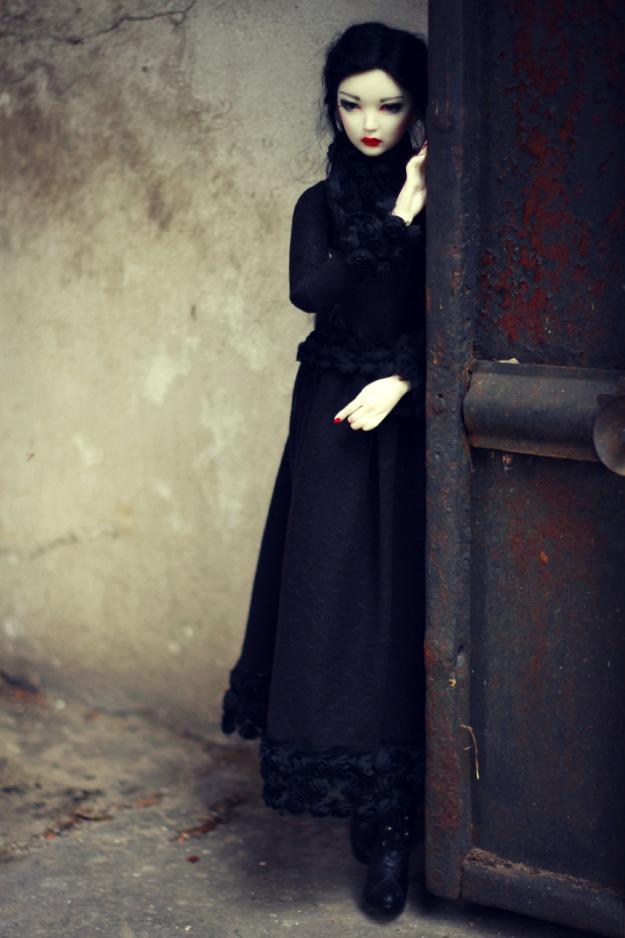 Japońska lalka płci męskiej