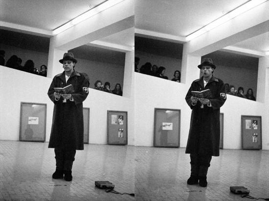 1972 Joseph Beuys Galerie L´Attico Rom