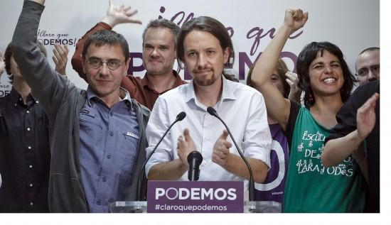 Pablo Iglesias, źródło: podemos.info
