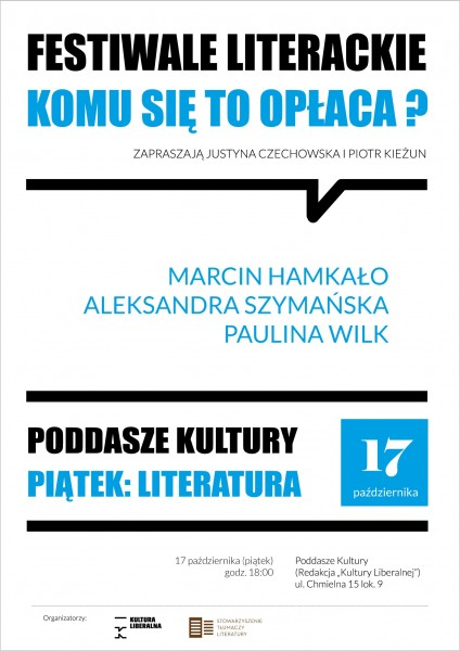 PIĄTEK-LITERATURA_festiwale_pazdziernik