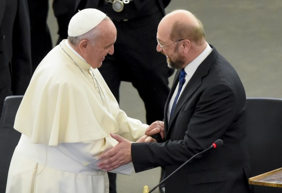 His Holiness Pope Francis, Martin SCHULZ, EP President