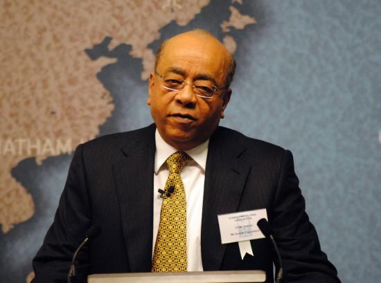 Fundator nagrody, Mohammed Ibrahim. Źródło: Wikicommons