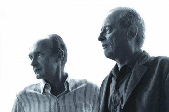 Konstanty A. Jeleński i Witold Gombrowicz w Vence, 1967. Dzięki uprzejmości Piotra Kłoczowskiego.
