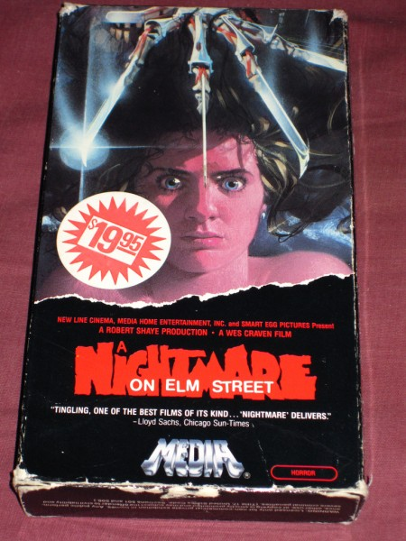 Ryan Clark - Nightmare on Elm Street (1984) VHS - Front