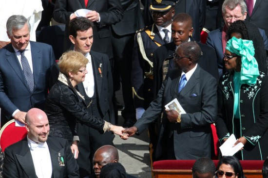 Mugabe_papież_Franciszek