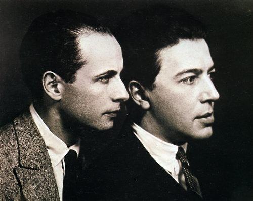 Louis Aragon i André Breton w 1924 r.