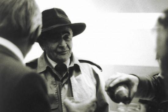 Louis Aragon, 1981. Fot. Bernardo Le Challoux. Źródło: Flickr