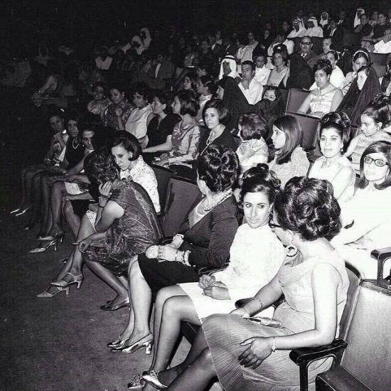 Um Kalthoum concert in Kuwait in the 1960s before the invasion of the cancer that is political Islam