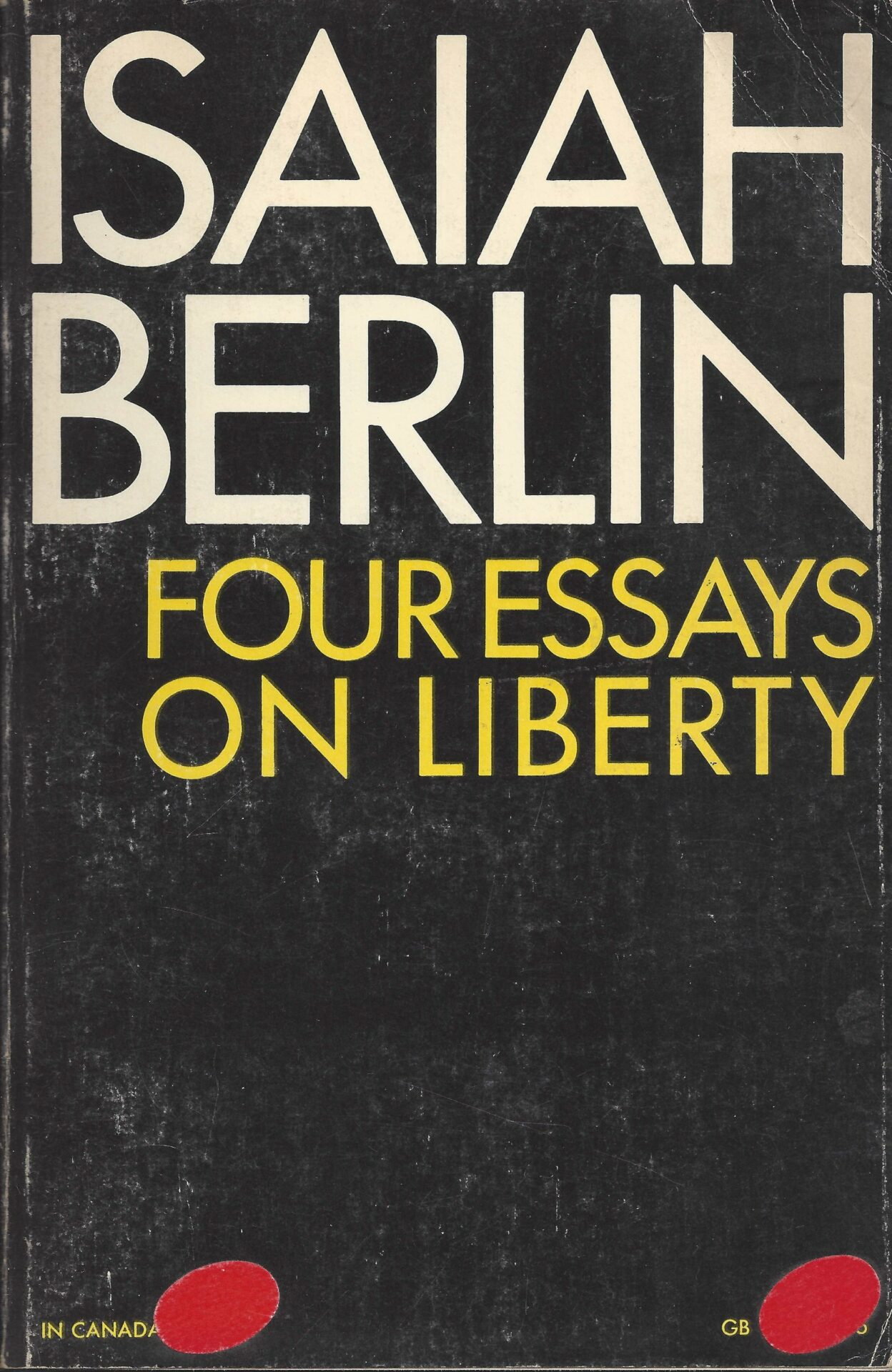 an analysis of berlins concept of freedom as presented in two concepts of liberty 1 berlin: two concepts of liberty isaiah berlin (1909-97) born in riga, latvia (then part of the russian empire), experienced the beginnings of the russian revolution withbeginnings of the russian revolution with.