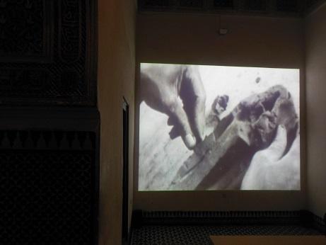 """Manthia Diawara, """"Negritude"""" (2015), Palais Bahia. Fot. Przemysław Strożek"""