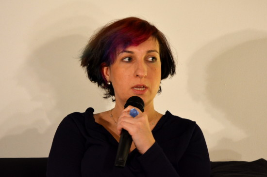Sylwia Chutnik. Fot.Adam Suwiński