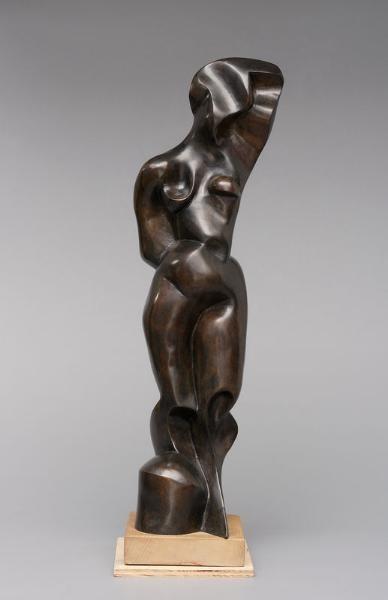 """Katarzyna Kobro (1898-1951), """"Akt kobiecy – stojąca"""", 1948 / odlew 1989"""