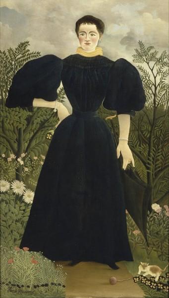 """""""Portret Madame M"""". Źródło: Wikipedia Commons."""