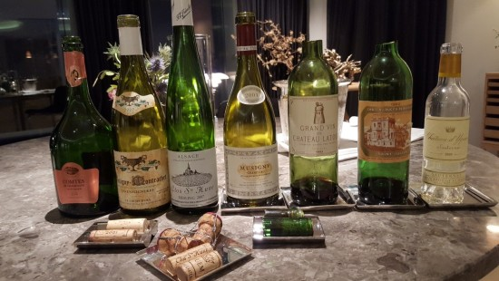 Wyjątkowy wine pairing z m.in. ocenionym przez Parkera na 100 punktów Château Latour z 1982 r. Cena rynkowa tej butelki to ok. 6000 zł.