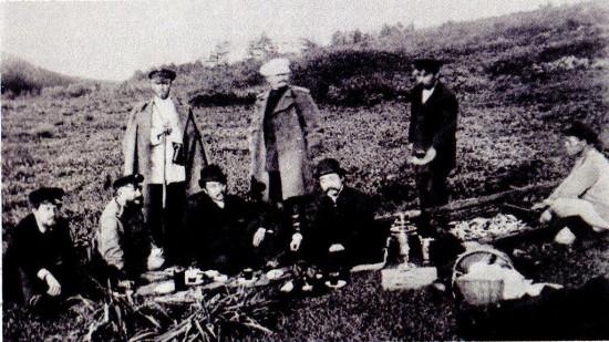 Antoni Czechow na Sachalinie, 1890
