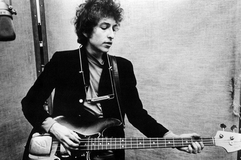 Bob Dylan. Fot. Paul Townsend. Źródło: Flickr (CC BY-NC-SA 2.0)