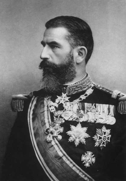 Karol de Hochenzollern-Sigmaringen, od1881r. król Rumunii.