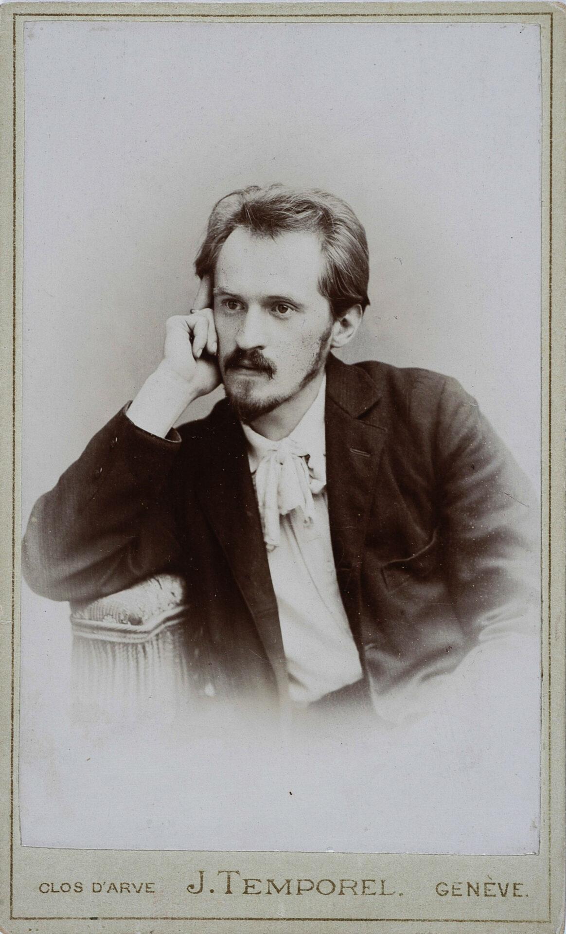 Portret Edwarda Abramowskiego. Źródło: Cyfrowa Biblioteka Narodowa Polona.