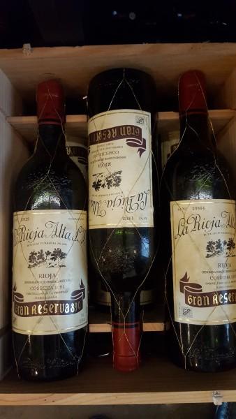 """La Rioja Alta 1981 """"Najlepsze wino z Bodegi La Rioja Alta. Prawdopodobnie jeszcze dwie dekady przed nim"""". Autor: Norbert Dudziński"""