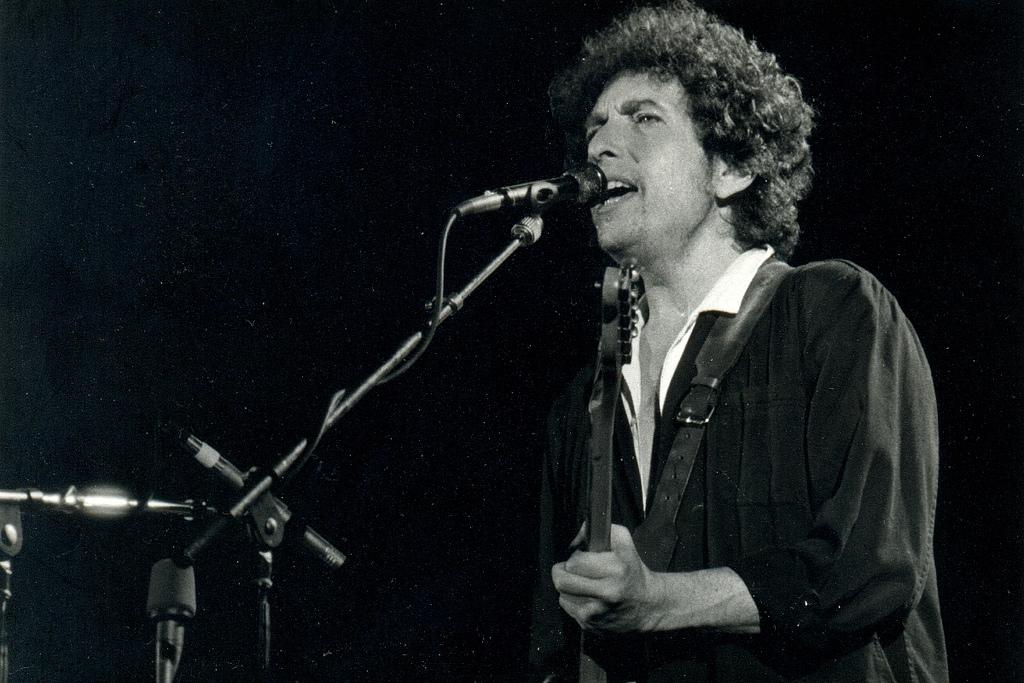 Bob Dylan. Fot.Xavier Badosa. Źródło: Flickr (CC BY2.0)