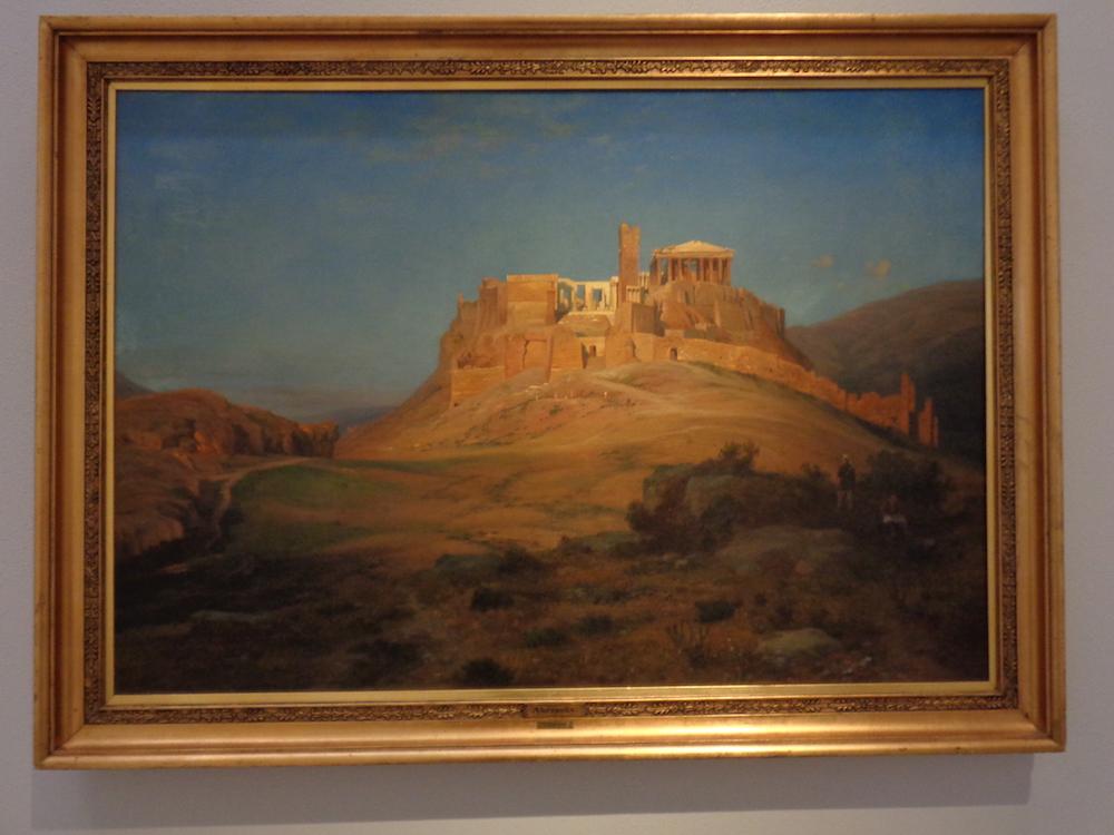 Louis Gurlitt – Acropolis at Sunset (1858), fot.P. Strożek