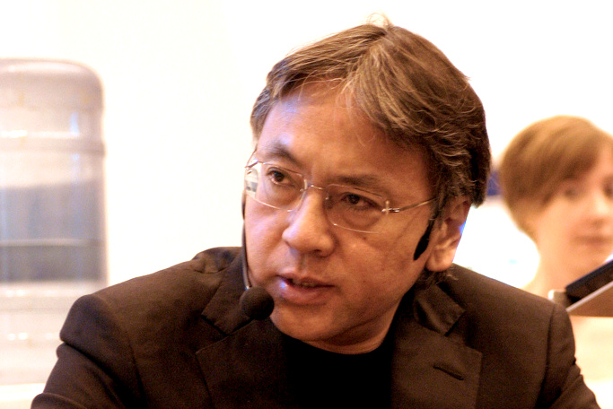 Kazuo Ishiguro. Fot. Robert Sharp / English PEN. Źródło: Flickr (CC BY-NC-SA 2.0)