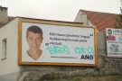 Billboard_for_Andrej_Babiš_with_handwritten_text_-Babiš_steals-_at_Regional_elections_in_Czechia_in_2016_in_Třebíč,_Třebíč_District