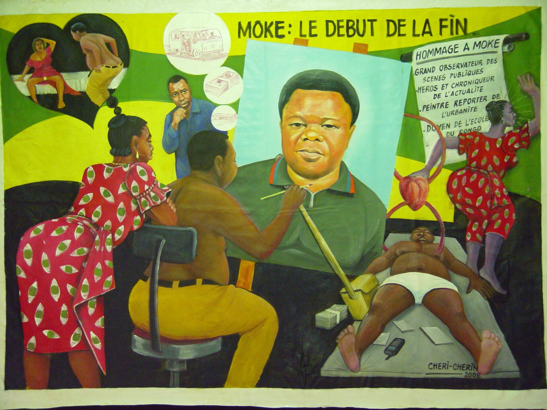Chéri Cherin, Kinshasa, 2002, Moke : poczatek konca, Collection MRAC Tervuren, Fonds B. Jewsiewicki