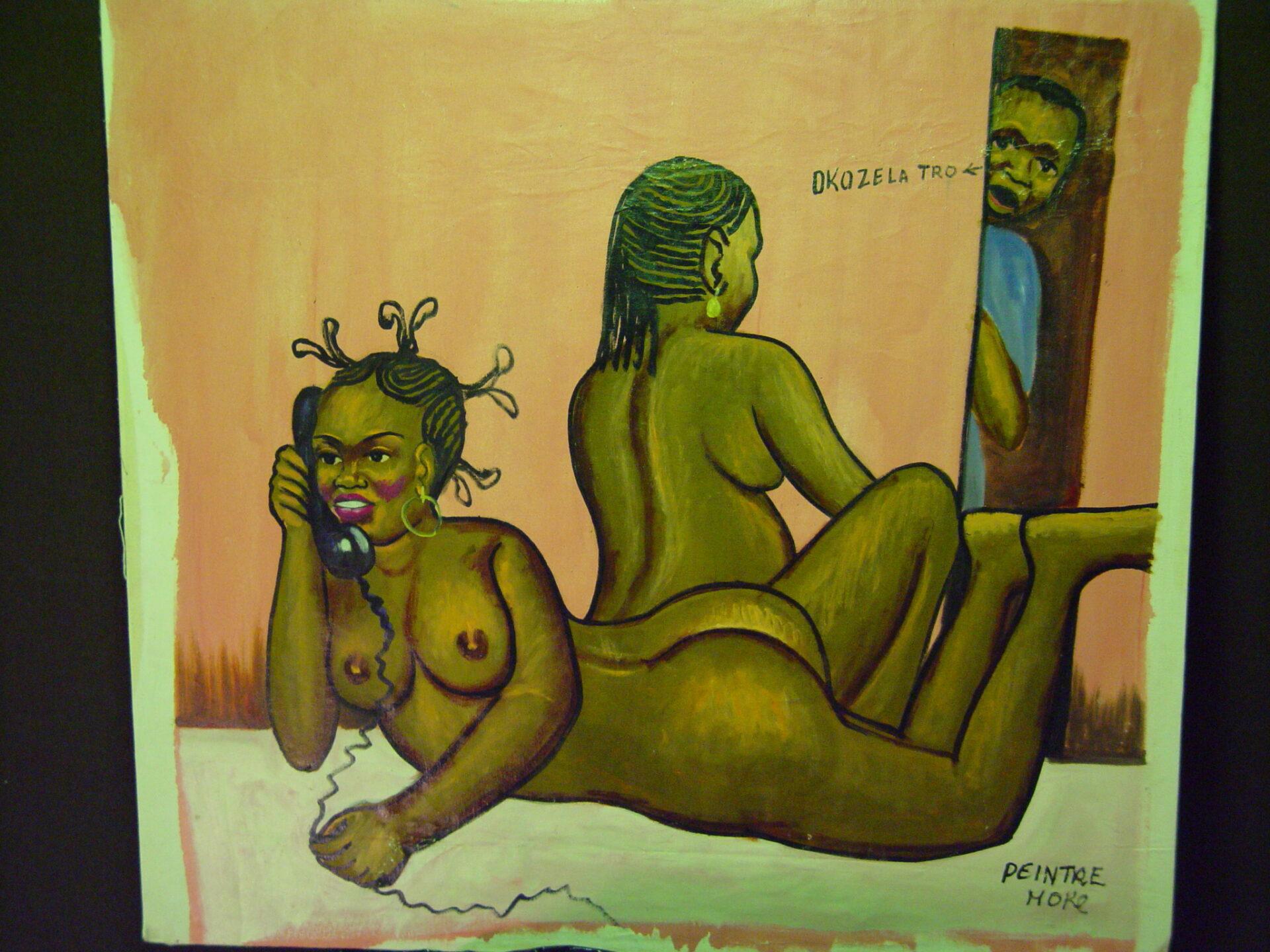 Moke, Kinshasa, 1980, Odmawiam twojej propozycji, Collection MRAC Tervuren, Fonds B. Jewsiewicki