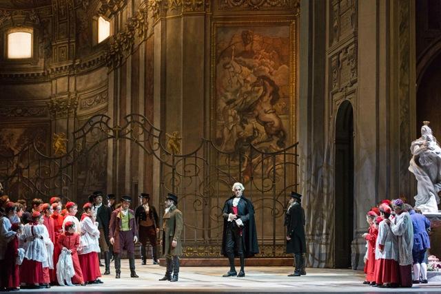 Tosca, Akt I (c) Teatro dell'Opera di Roma.