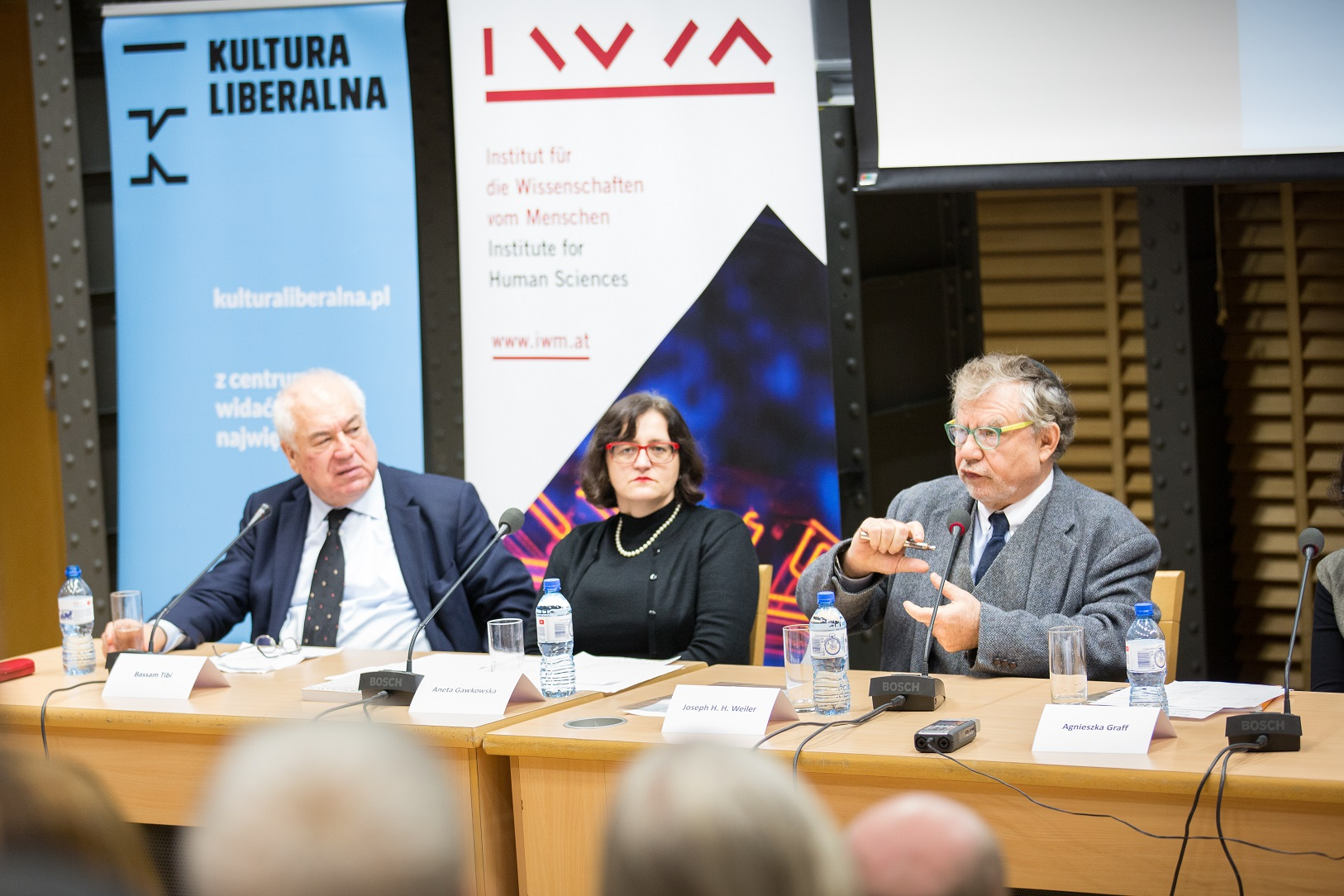 Bassam Tibi, Aneta Gawkowska, Joseph Weiler