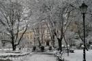 Planty_Park-snow_Old_Town_Krakow_Poland