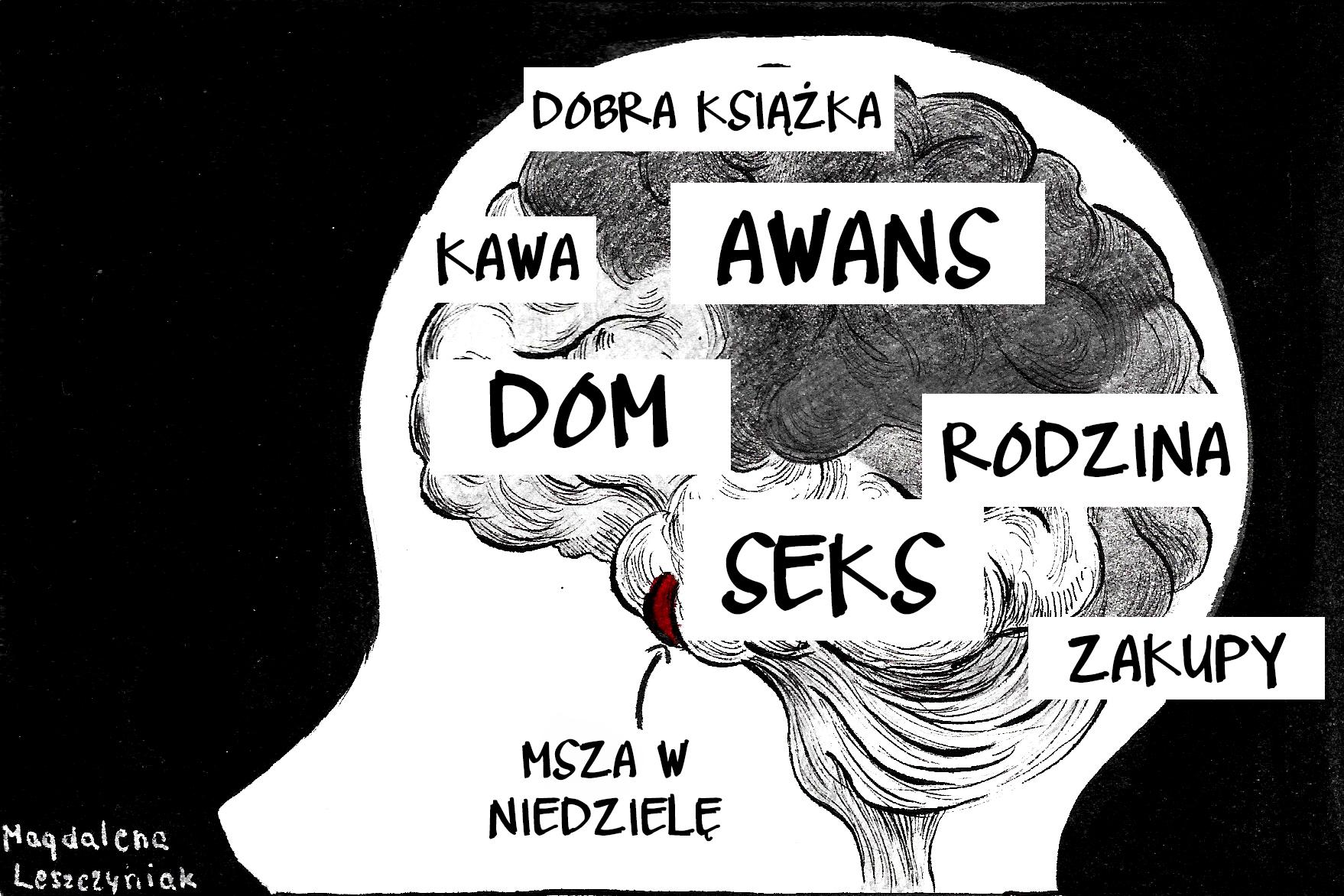 Ilustracja: Magdalena Leszczyniak